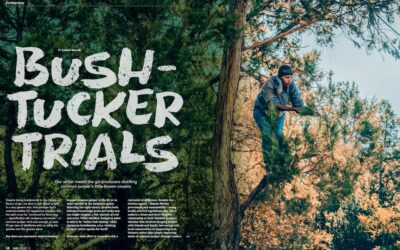 Gin Magazine – Bush-Tucker Trials by Sarah Miller